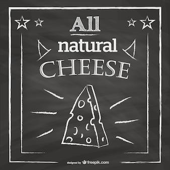 Restaurant-menü-tafel design käse