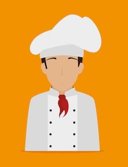 Restaurantdesign, Vektorillustration.