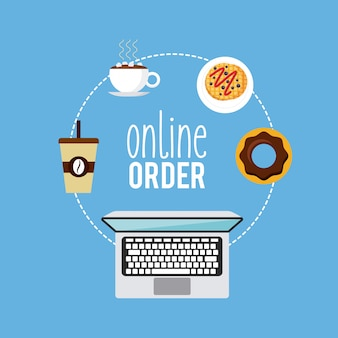 Restaurantmenü online bestellen
