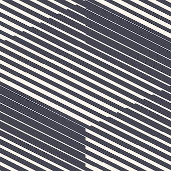 Retro 80er jahre stil geometrische linien abstrakte nahtlose muster