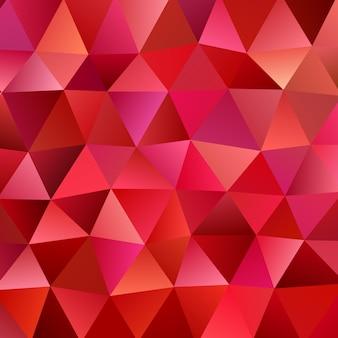 Retro- abstrakter unregelmäßiger polygonaler dreieckhintergrund