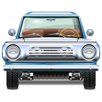 Retro auto illustration