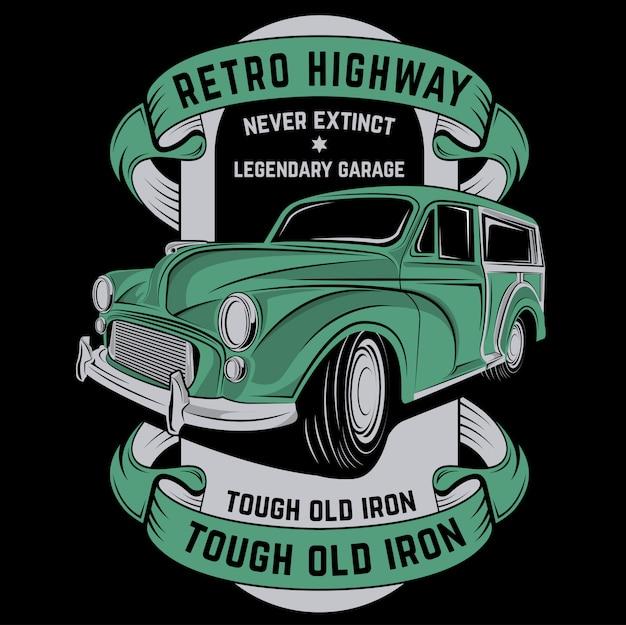 Retro autobahn