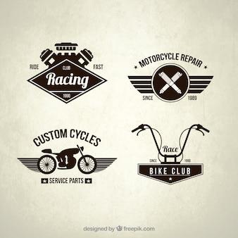 Retro bike abzeichen