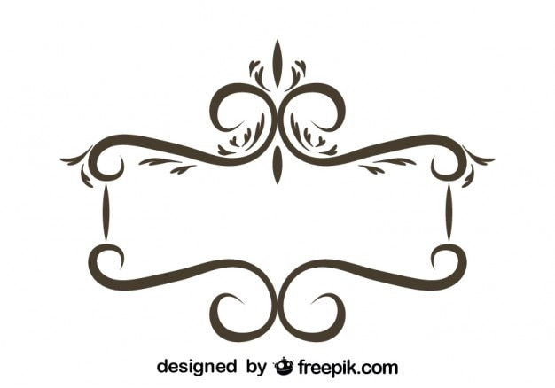 Retro-blumenrahmen stilish design