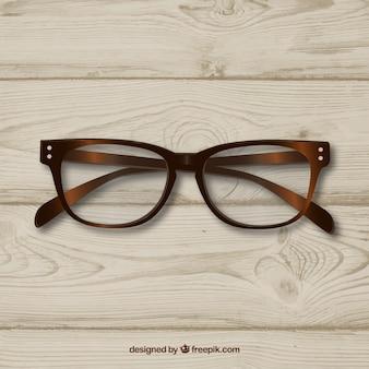 Retro brille klassischen wayfarer