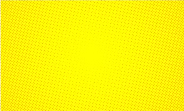 Retro- comicart-halbtonpop-art des abstrakten gelben hintergrundes