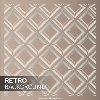 Retro diamant-vorlage