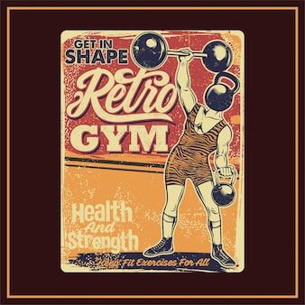 Retro-fitnessstudio