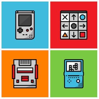 Retro-game-spieler