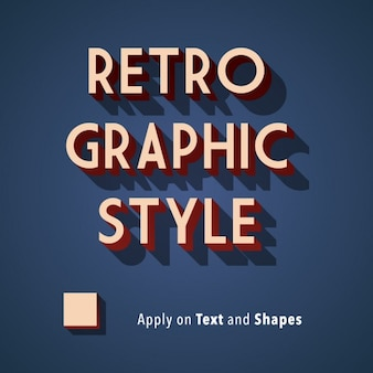 Retro grafik-stil hintergrund