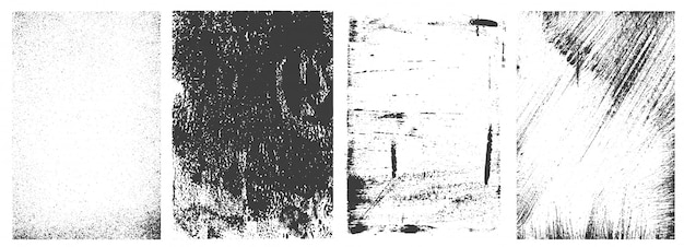 Retro grunge frames kollektion