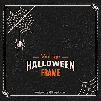 Retro Halloween-Rahmen