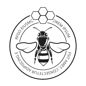 Retro honigbiene