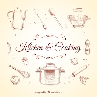 Retro küchenelemente