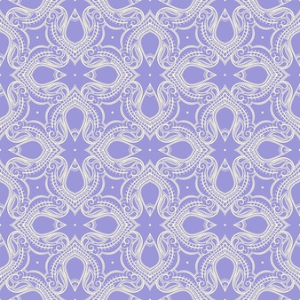 Retro lila muster