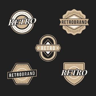 Retro logo sammlung