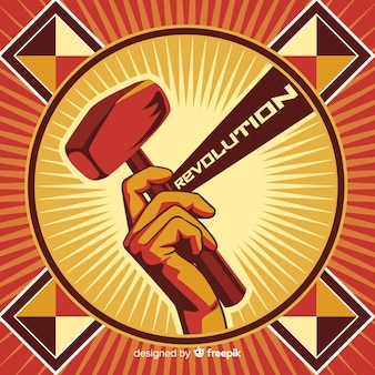 Retro revolutionspropaganda