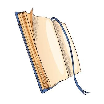 Retro schreibpapier für gedichtarbeit