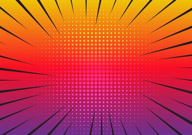 Retro starburst hintergrund