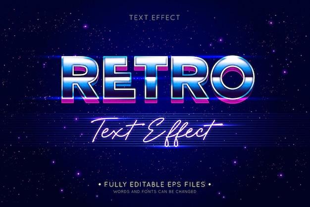 Retro-texteffekt