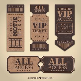 Retro-tickets