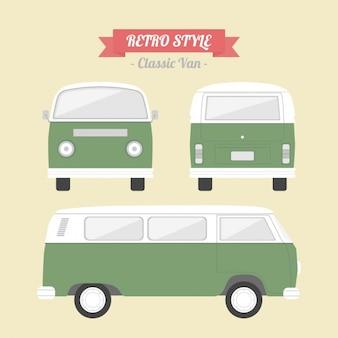 Retro van design