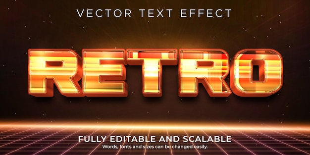 Retro-vintage-texteffekt