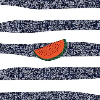 Retro wassermelone