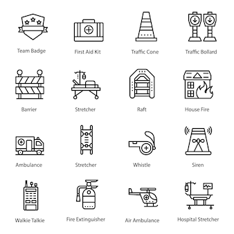 Rettungsleine icons