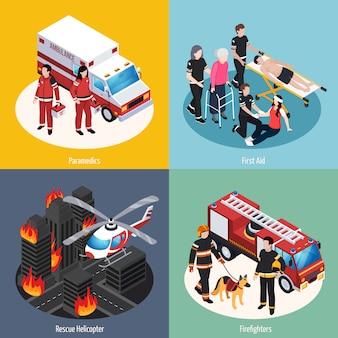 Rettungsmannschaft 2x2