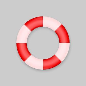 Rettungsring isoliert