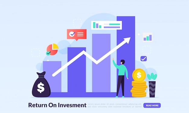 Return on investment-konzept