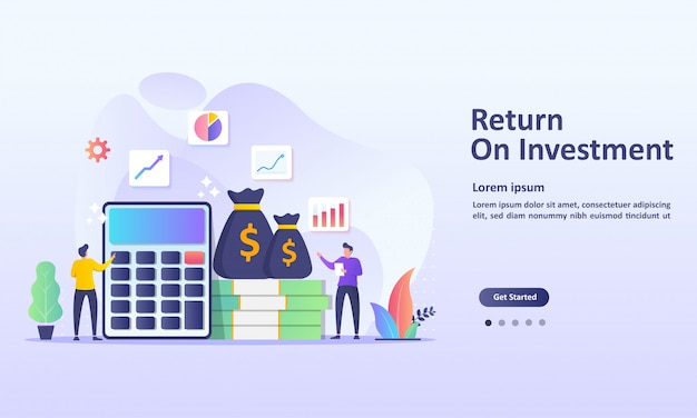 Return on investment konzept