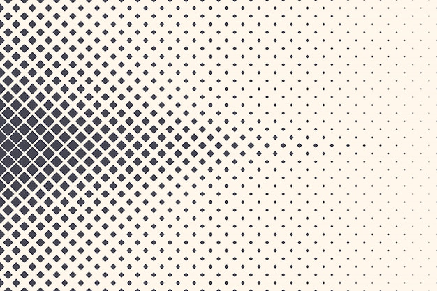 Rhombus halftone abstract geometric structure background