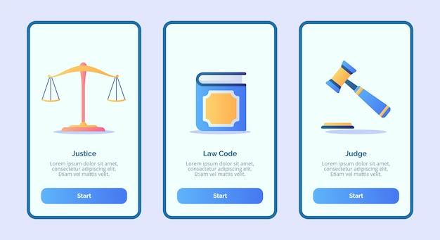 Richter des justizgesetzes für mobile apps