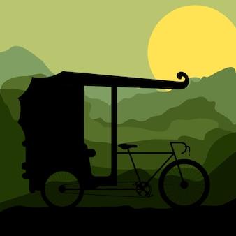 Rikscha transport design