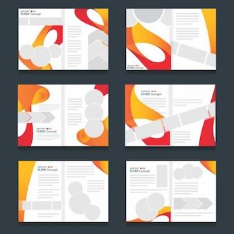 Rio paralympics 2016 flyer-set