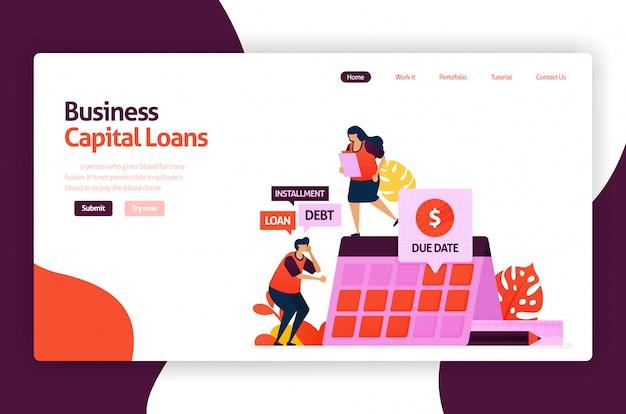 Risikokapitalkredite für die entwicklung und investition von kmu. niedrig verzinsliche kredite für junge unternehmer und start-up-unternehmen.