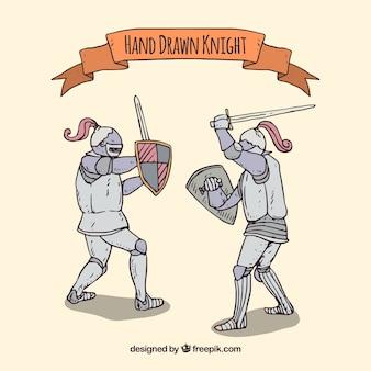 Ritter rüstungen kämpfen