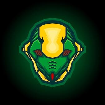 Roboter ant e sport logo design