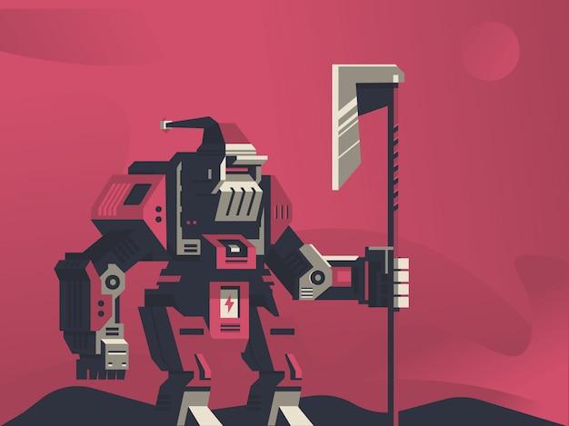 Roboter-illustration