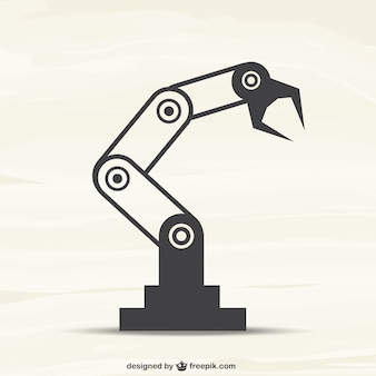 Roboter-maschine vektor