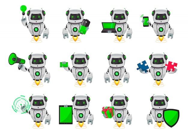 Roboter mit künstlicher intelligenz, bot