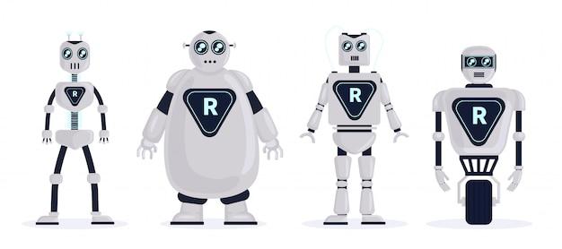 Roboter setzen