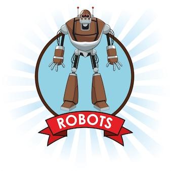 Roboter technologie wissenschaft zukunft banner