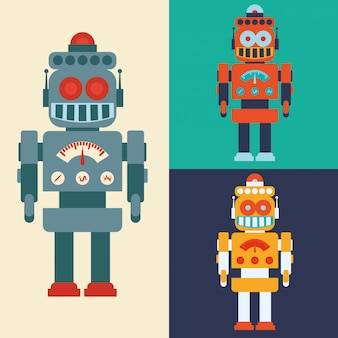 Roboter- und technologiedesign