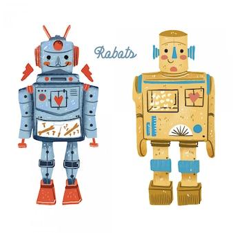 Roboter vintage spielzeug