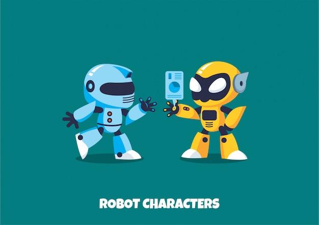 Roboter zeichen