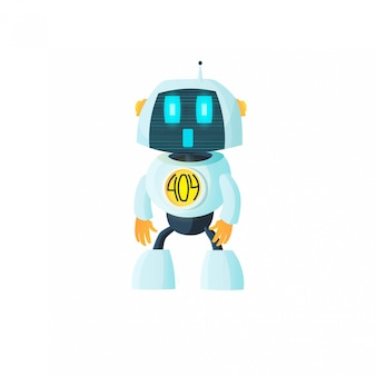 Roboter zeigt fehler 404 an.